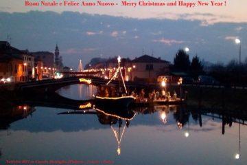 Visite e giochi per famiglie al Museo della Navigazione Fluviale- Natale 2017 Canale Battaglia Terme